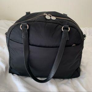 Lo & Sons OG Weekender Travel Tote Black/Lavender